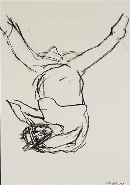 Georg Baselitz-Sans titre-1982
