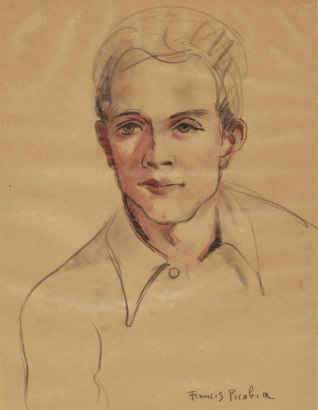 Francis Picabia-Portrait d'homme-1942