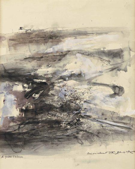 Zao Wou-Ki-Sans Titre-1965