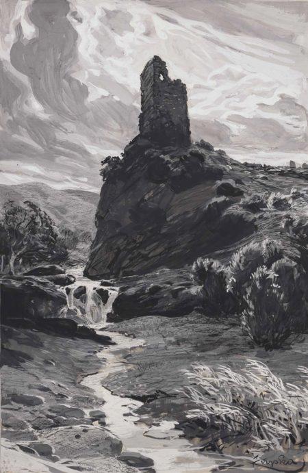 Frantisek Kupka-Le chateau-1905