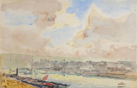 Albert Lebourg-La Seine a Rouen-1910