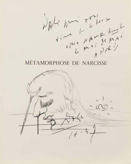Salvador Dali-Sans titre, visage a la bequille-1937