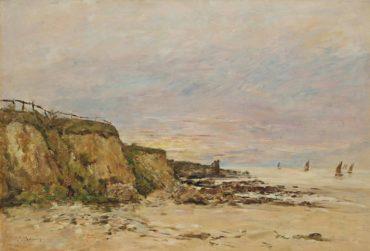 Villerville, le rivage