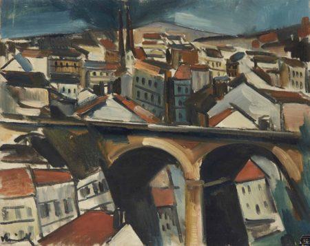 Maurice de Vlaminck-Le viaduc-1911