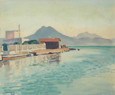 Le quai, Tunis (la Goulette)
