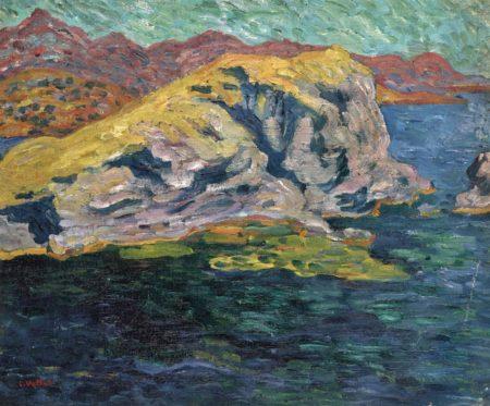 Louis Valtat-Bord de mer dans le midi-1900