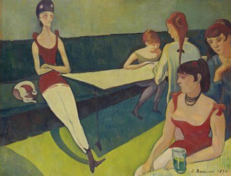 Emile Bernard-Le salon-1892