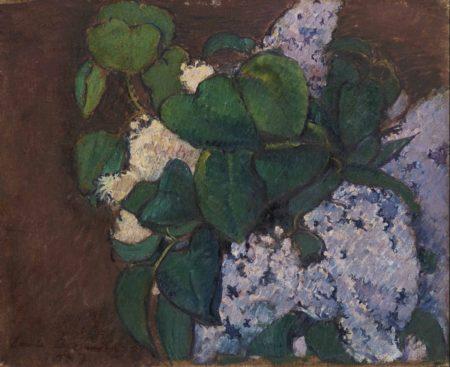 Emile Bernard-Bouquet de lilas-1887