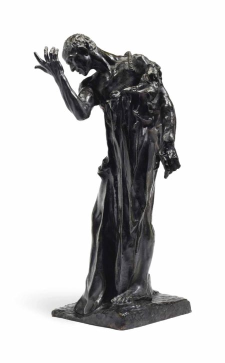 Auguste Rodin-L'un des Bourgeois de Calais: Pierre de Wiessant, vetu, reduction-1903
