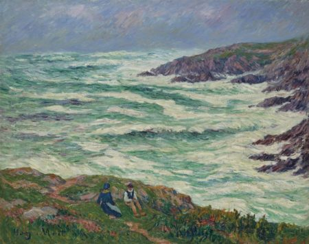 Henry Moret-Grosse mer-1913