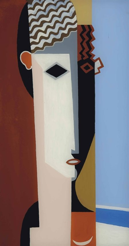Louis Marcoussis-Portrait d'Alice Halicka-1923