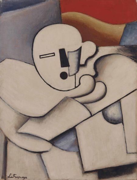 Roger de La Fresnaye-Arlequin, Etude pour 'Le Pierrot'-1920