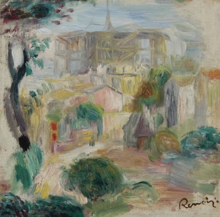 Pierre-Auguste Renoir-Vue du Sacre-Coeur-1905