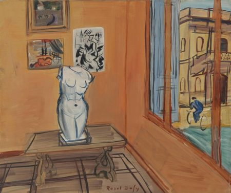 Raoul Dufy-Atelier au torse-1942