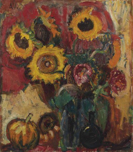 Bram van Velde-Sonnenblumen-1924