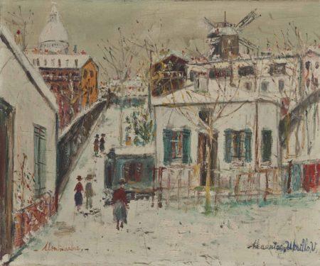 Maurice Utrillo-Le maquis a Montmartre-1942