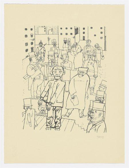 George Grosz-Vollkommene Menschen & Kein Hahn kraht nach ihnen-1920