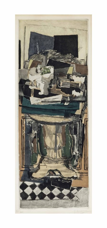 Georges Braque-After Georges Braque - Nature Morte-1923