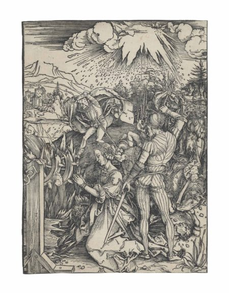 Albrecht Durer-The Martyrdom of Saint Catherine-1498