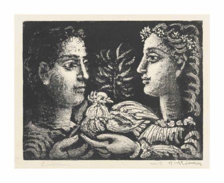 Pablo Picasso-Jeunesse-1950