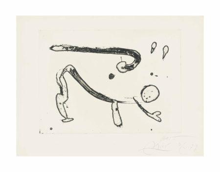 Joan Miro-Ocells de Montroig IV-1979