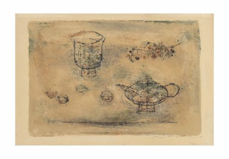 Zao Wou-Ki-La theiere (The tea pot)-1952