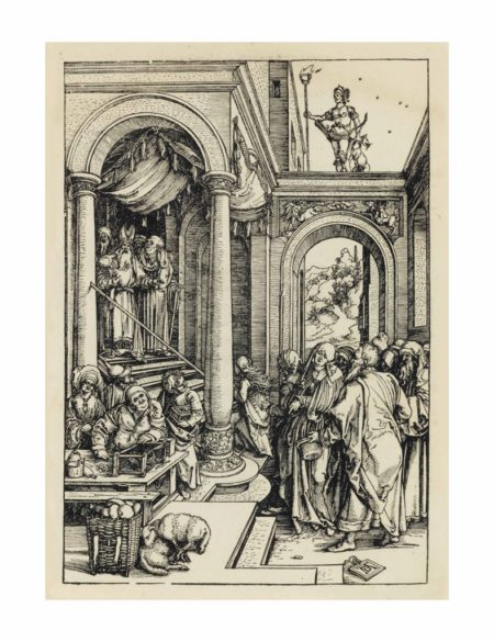 Albrecht Durer-The Presentation of the Virgin in the Temple, from: The Life of the Virgin-1503