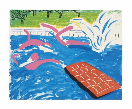 David Hockney-Afternoon Swimming-1979