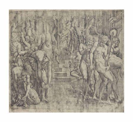 Francesco Primaticcio-Anonymous After Francesco Primaticcio - The Masquerade of Persepolis-1550