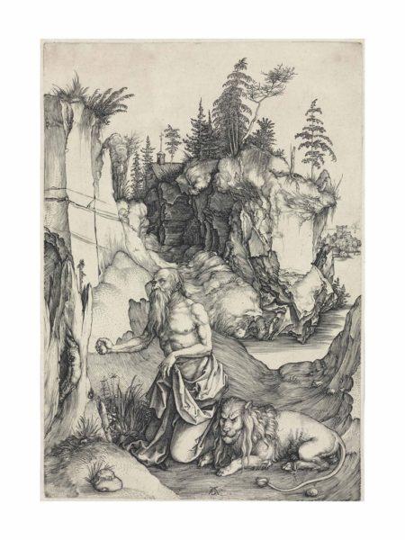 Albrecht Durer-Saint Jerome in Penitence-1496