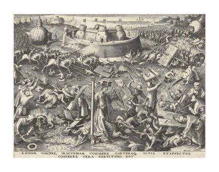 After Pieter Bruegel The Elder - Fortitudo, from: The Seven Virtues-1560