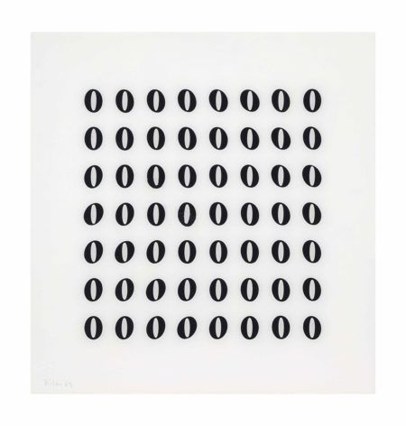 Bridget Riley-Untitled [Fragment 4]-1965