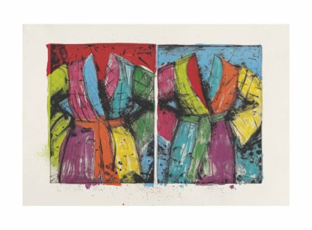 Jim Dine-Two Florida Bathrobes-1986