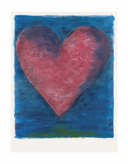 Jim Dine-A Heart on the Rue de Grenelle-1981