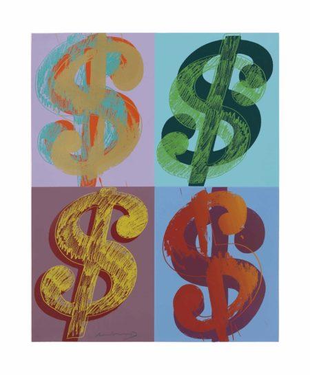 Andy Warhol-$ (Quadrant)-1982