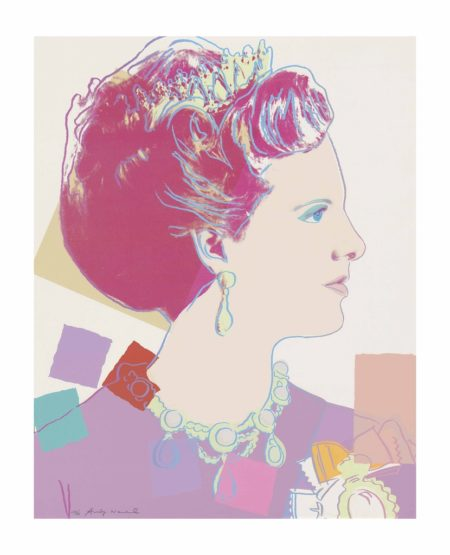 Andy Warhol-Queen Margrethe II of Denmark, from: Reigning Queens-1985