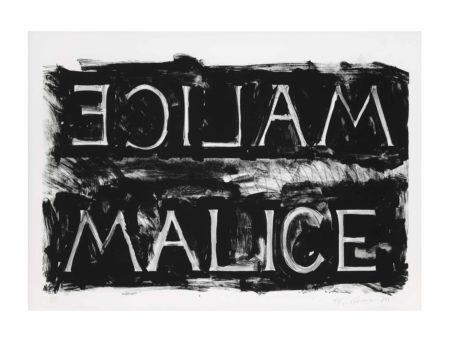 Bruce Nauman-Malice-1980