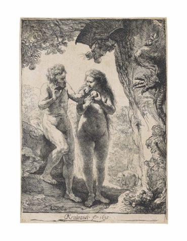 Rembrandt van Rijn-Adam and Eve-1638