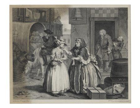 William Hogarth-The Harlot's Progress-1732