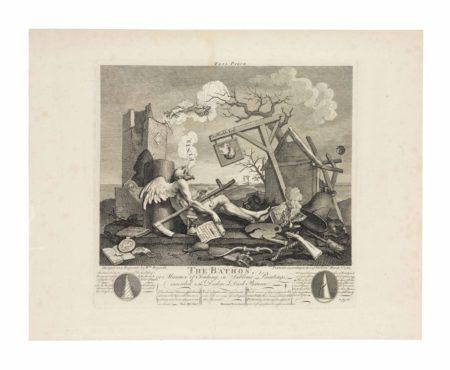 William Hogarth-Tailpiece, or The Bathos-1764