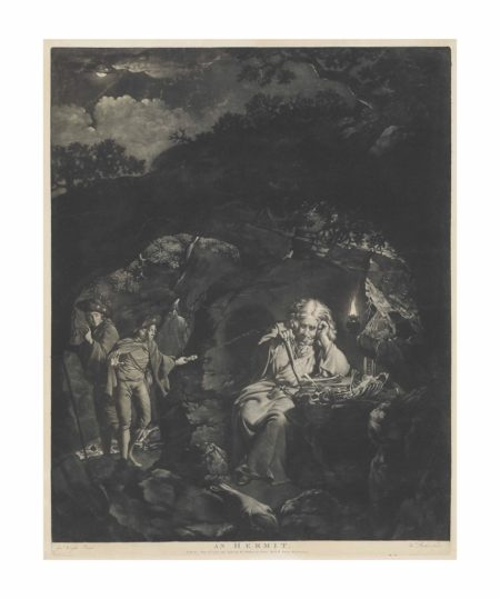 After Joseph Wright Of Derby - An Hermit-1770