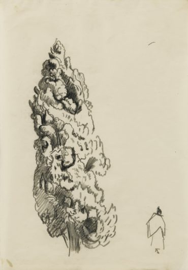 Paul Signac-Etude De Cypres