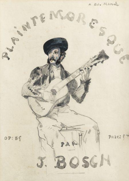 Edouard Manet-Plainte Moresque-1861