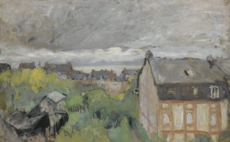 Edouard Vuillard-Les Toits Mauves-1909