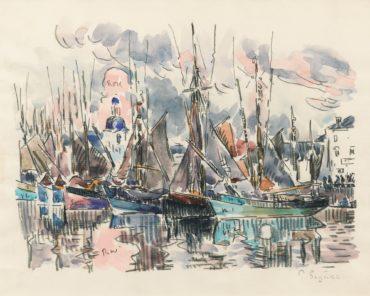 Paul Signac-Les Sables D'Olonne-1925