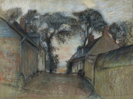 Edgar Degas-La Rue Quesnoy A Saint-Valery-Sur-Somme-1898