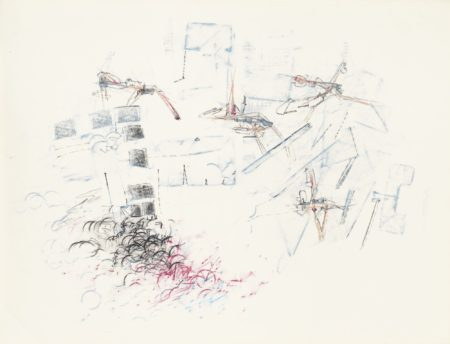 Roberto Matta-Tremblement De Terre, Panarea (Cycle)-1963