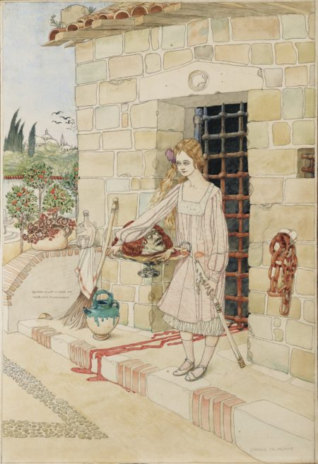 Gustav-Adolf Mossa-The Irony Of Salome-
