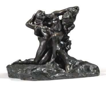Auguste Rodin-Eternel Printemps, Second Etat, 4Eme Reduction, Dite Aussi 'No.2'-1910
