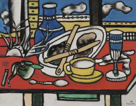 Fernand Leger-Les Deux Couteaux-1949